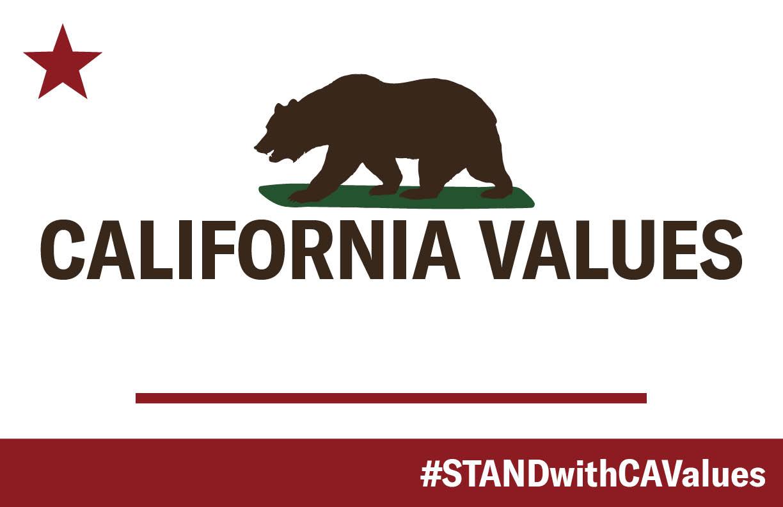 California Values (blank - write in here)