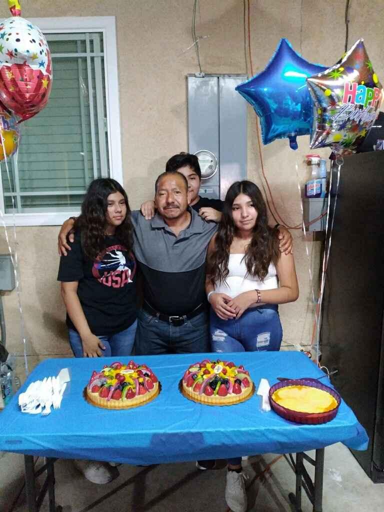 Alejandro Jeronimo Osorio and his children