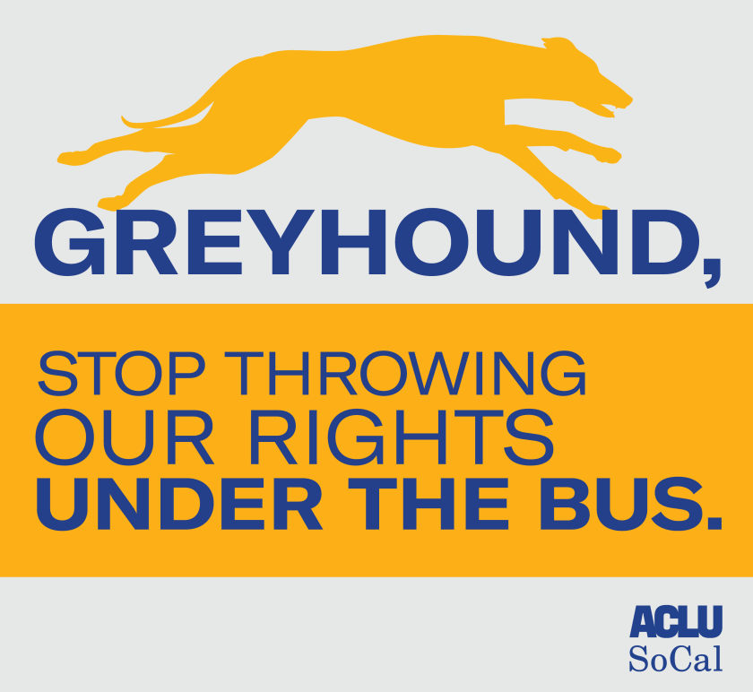 Greyhound, stop throwing our rights under the bus