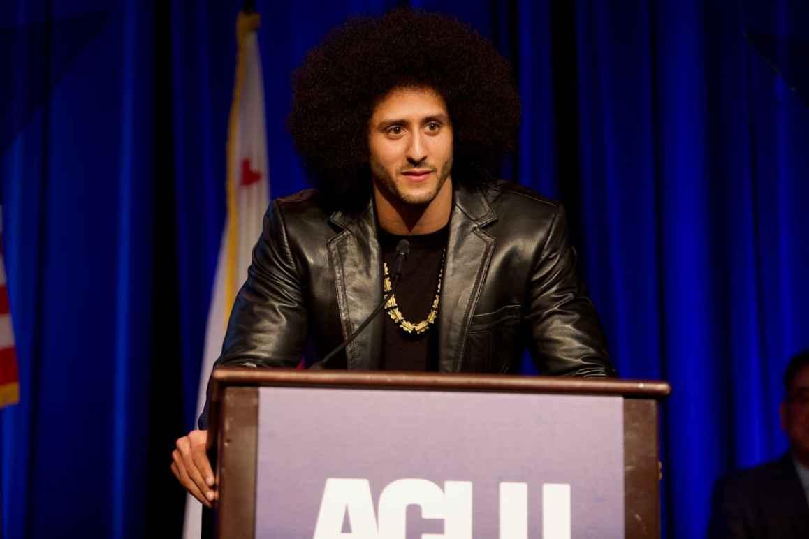 Colin Kaepernick at ACLU SoCal's Bill of Rights Dinner