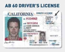 AB 60 California driver's license