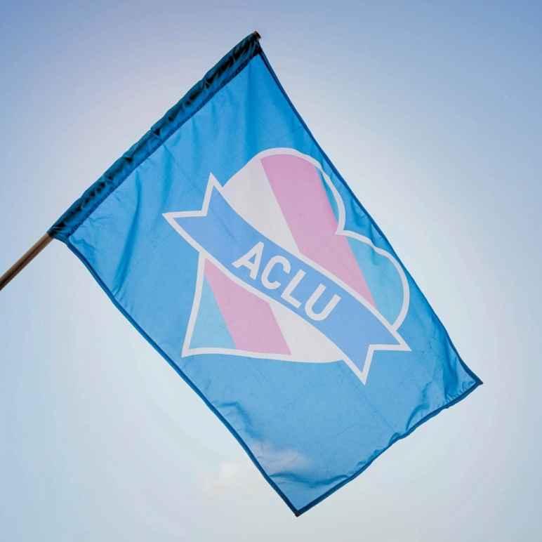 ACLU trans flag