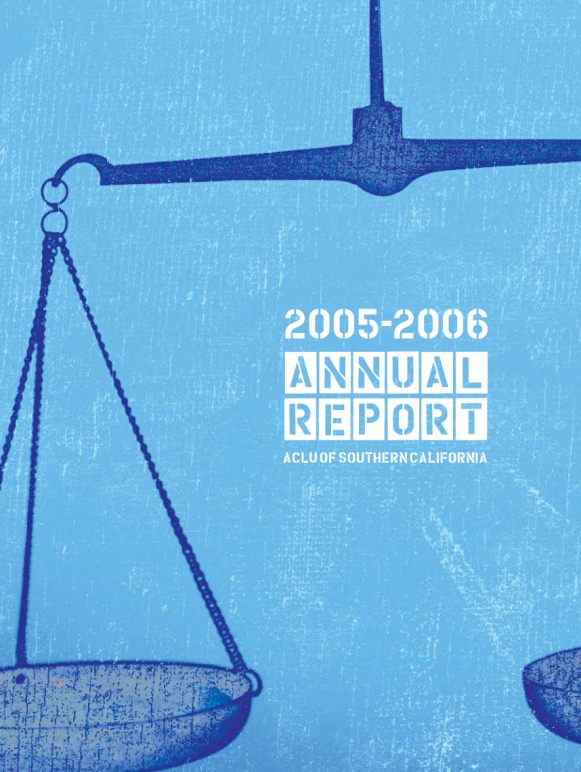 Annual Report 2005 – 2006
