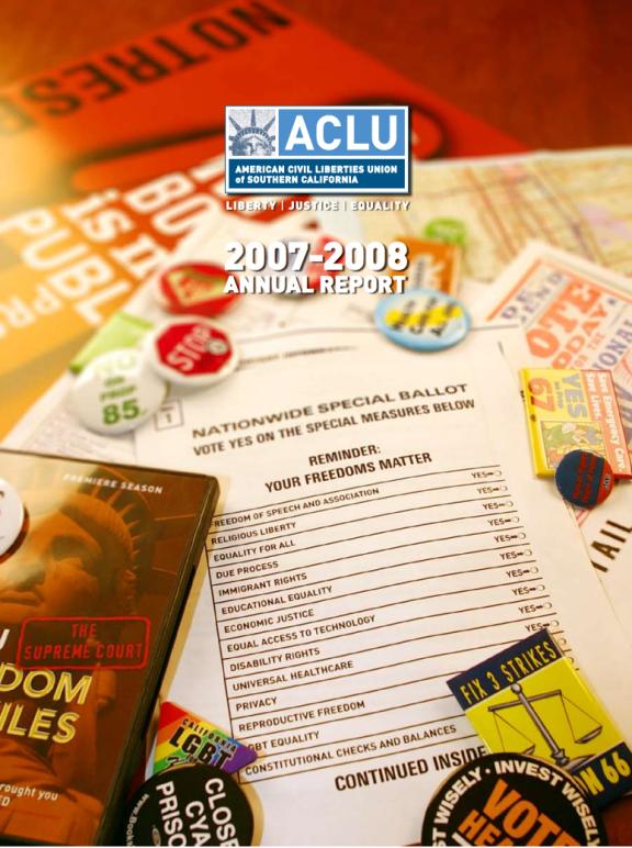 Annual Report 2007 – 2008