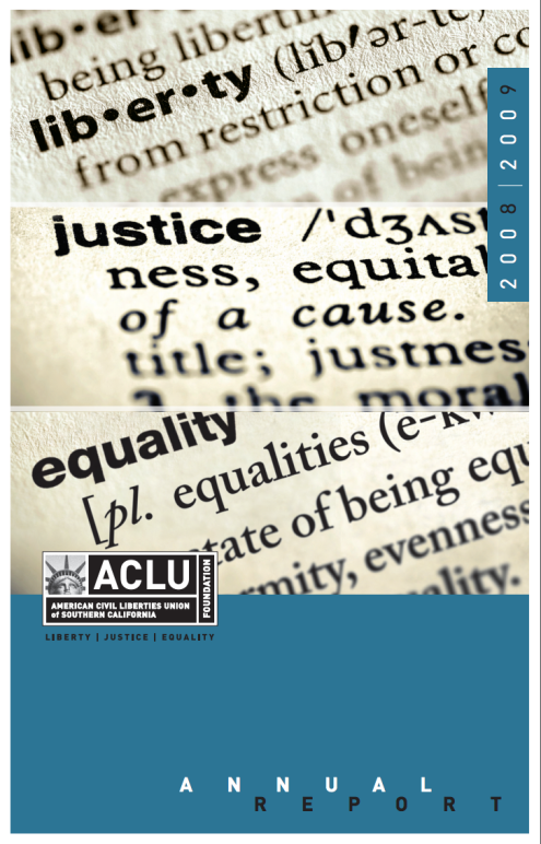 Annual Report 2008 – 2009