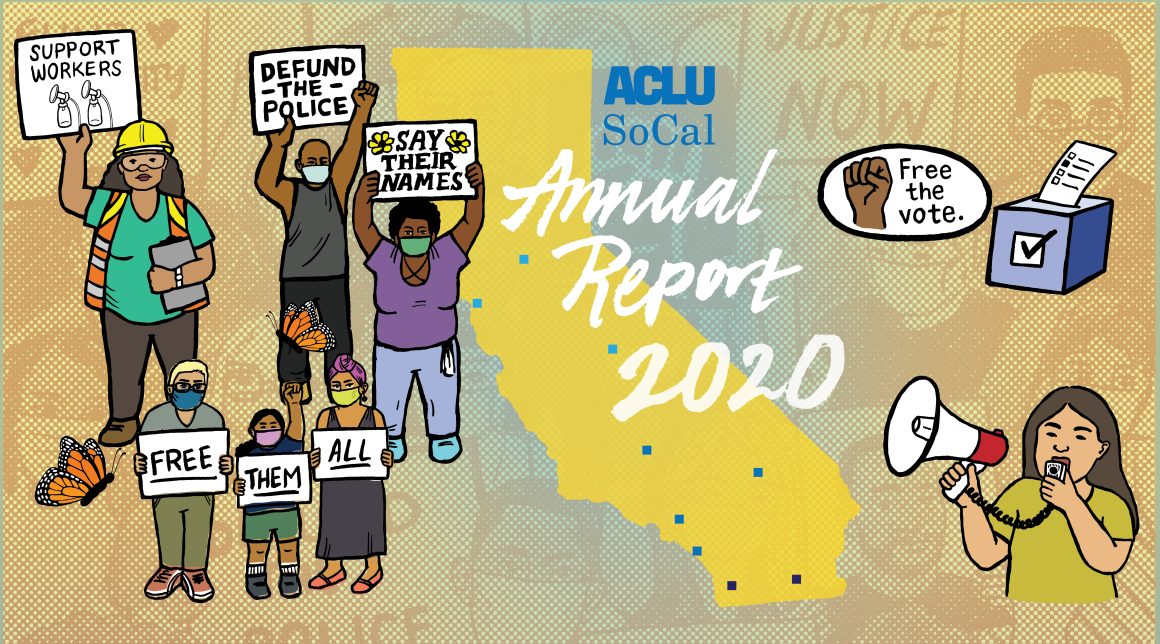 2020 ACLU SoCal Annual Report Featured Image