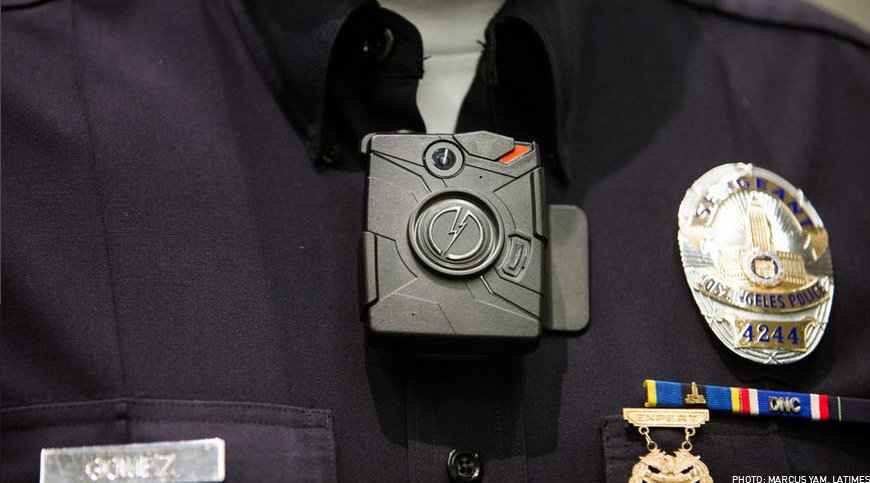 LAPD Body Cameras (PHOTO: MARCUS YAM, LATIMES)