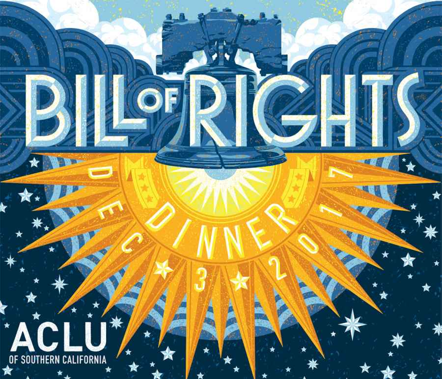 ACLU SoCal Bill of Rights Dinner 2017