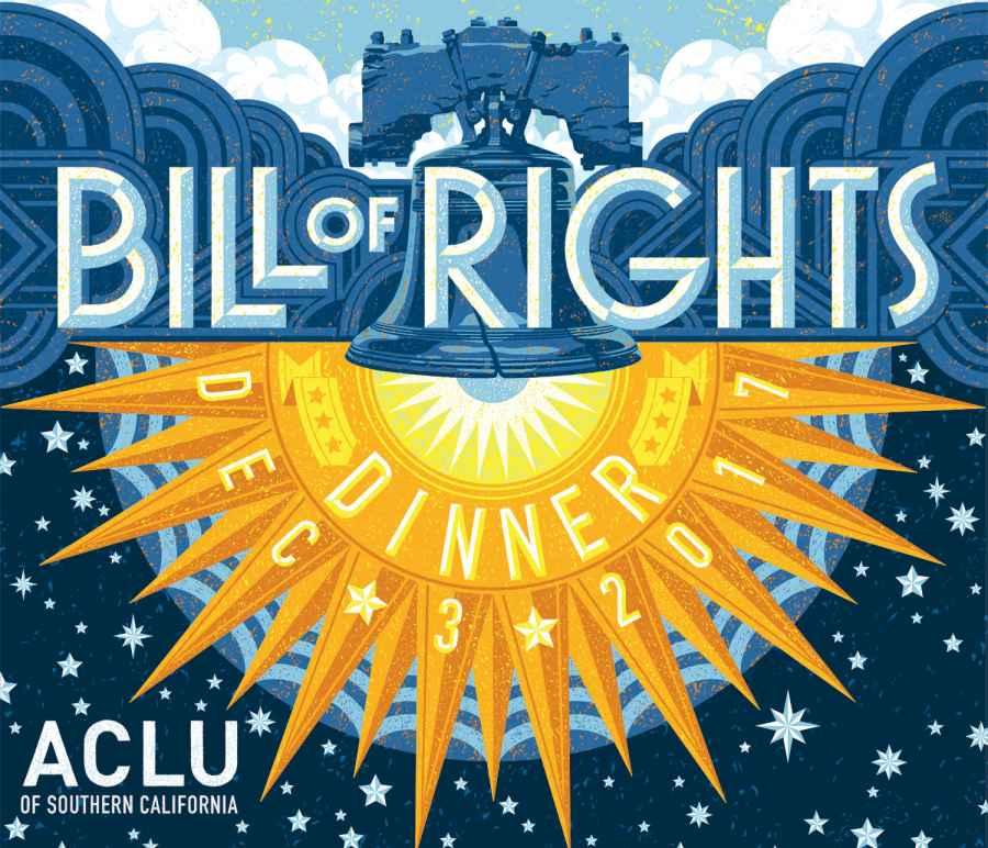 ACLU SoCal Bill of Rights Dinner 2017