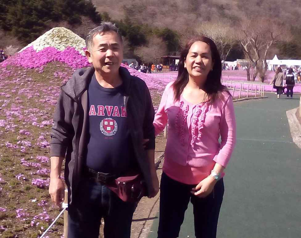 Daishi's parents