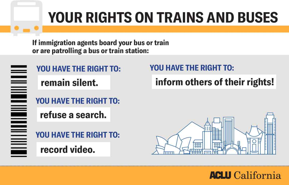 Your rights on trains and buses
