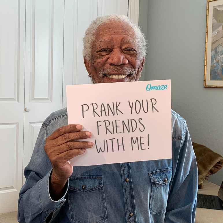 Omaze ACLU Morgan Freeman