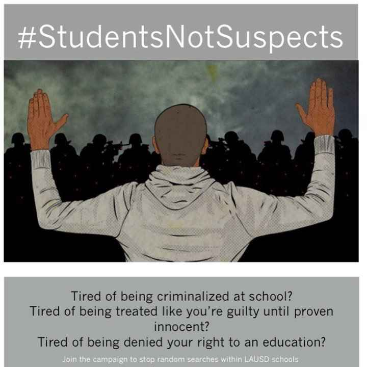Students Not Suspects