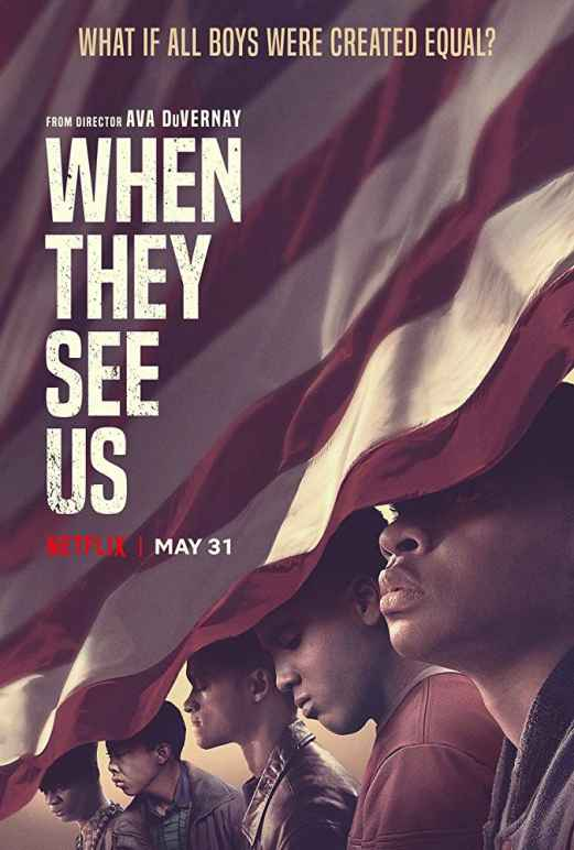 """When They See Us"" Netflix poster"