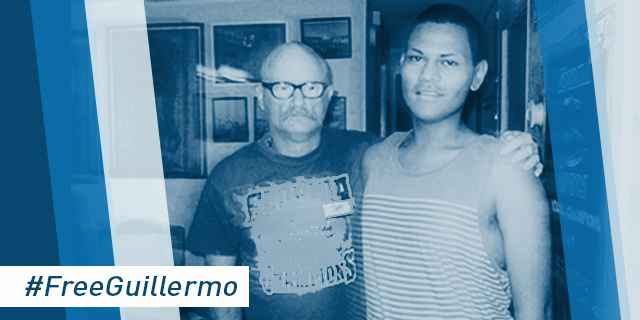 TAKE ACTION: Urge U.S. Immigration and Customs Enforcement to #FreeGuillermo and reunite him with husband.