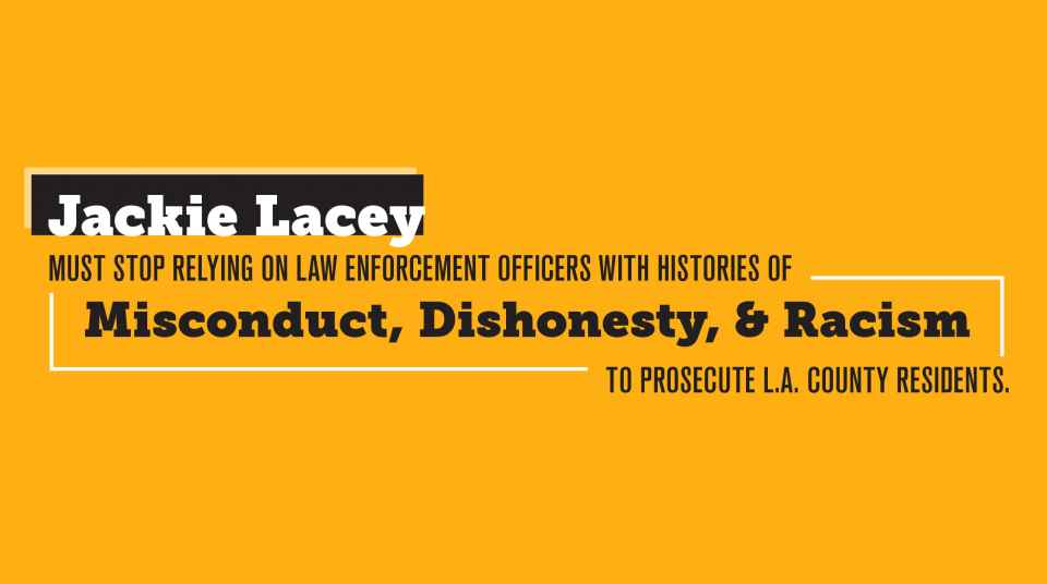 Open Letter: Jackie Lacey Must Stop Relying on Law