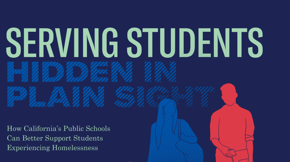 Hidden In Plain Sight Homeless Students >> Supporting Students Experiencing Homelessness Aclu Of Southern