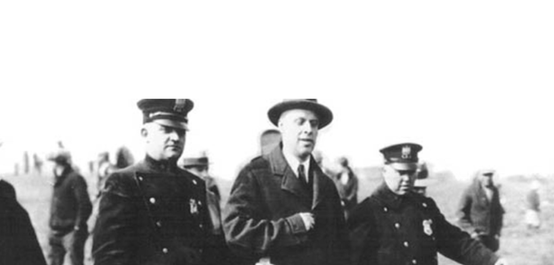Upton Sinclair arrested
