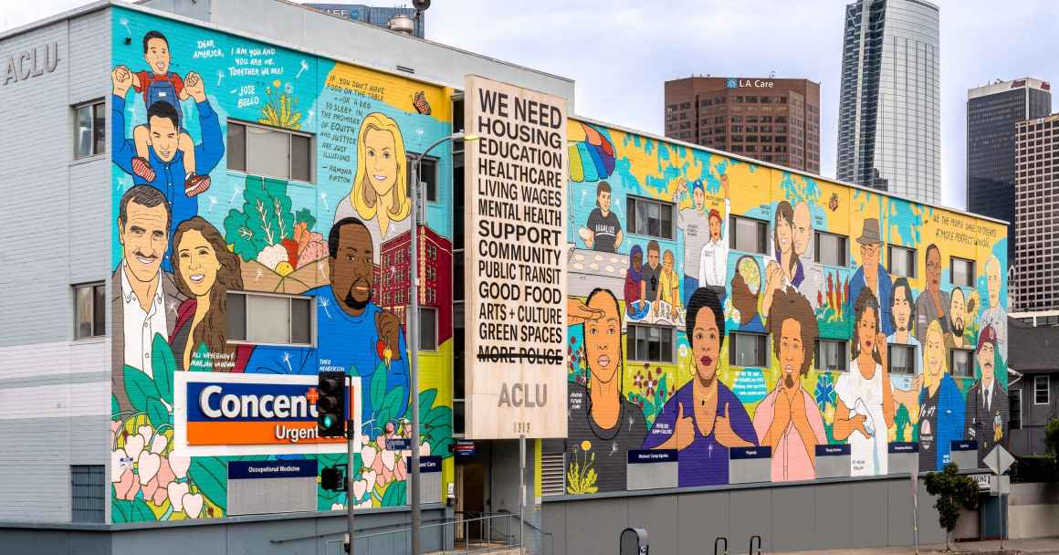 The Care We Create mural