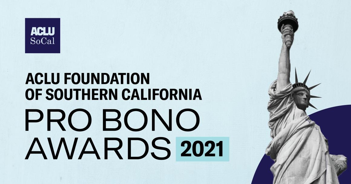 2021 Pro Bono Awards