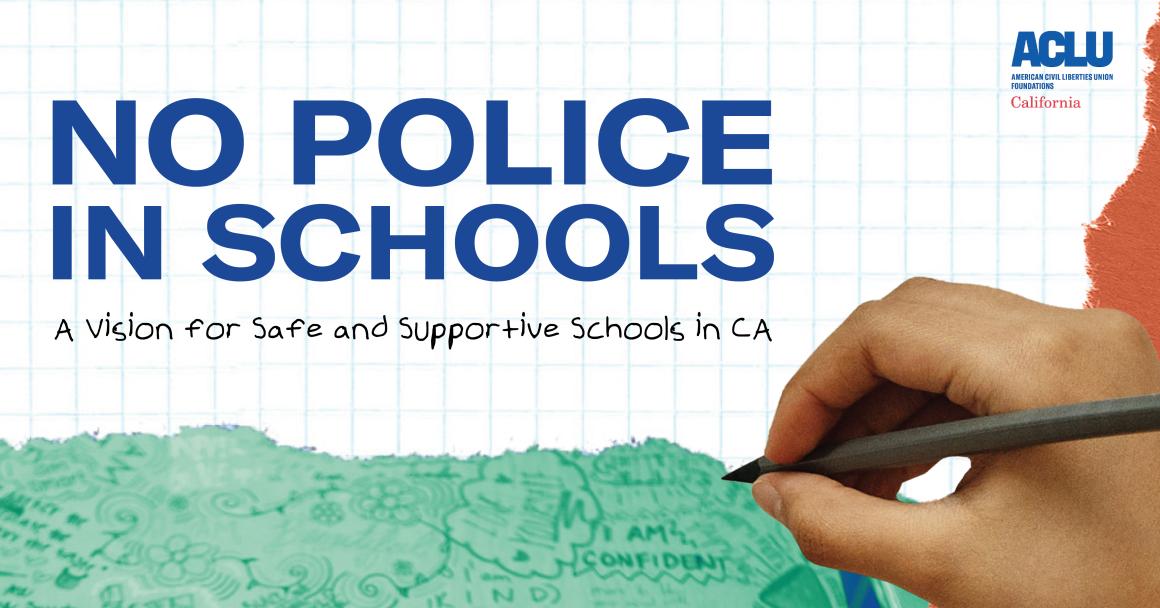 No Police in Schools