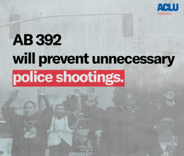 Access to CA Police Records   ACLU of Southern California
